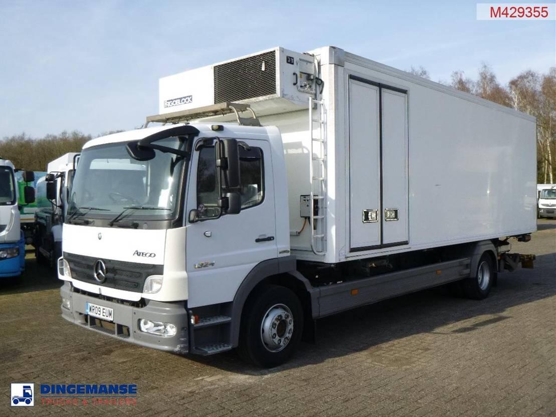 koelwagen vrachtwagen Mercedes-Benz Atego 1324 4x2 RHD Euro 5 Frigoblock FK25 frigo 2009