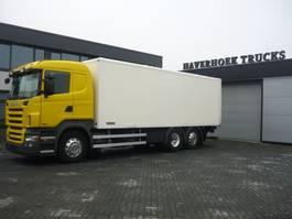 bakwagen vrachtwagen Scania R480 6x2-4 euro 5 Retarder 2009
