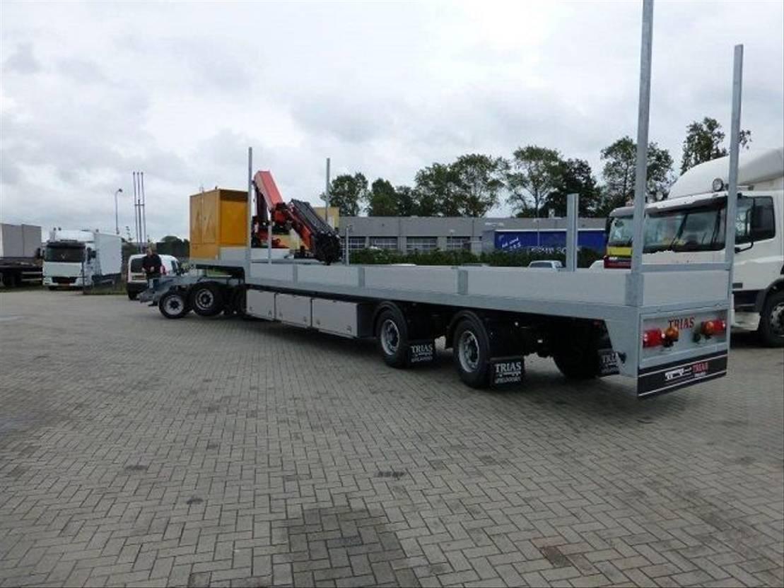 semi dieplader oplegger Trias 712-330 Semi dieplader PK 26002F 2012