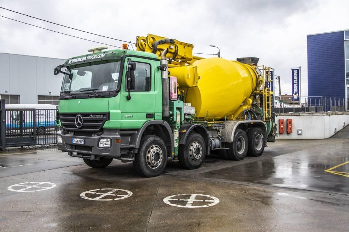 betonpomp vrachtwagen Mercedes-Benz Actros 3241 + PUTZMEISTER 24M 2008