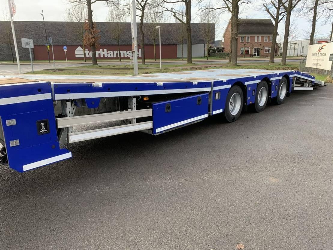 semi dieplader oplegger Aksoylu Semi dieplader autotransport tractor transport 6 weken levertijd 2020