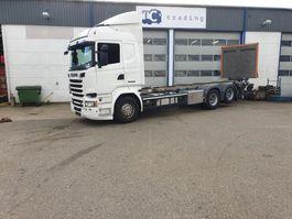 chassis cabine vrachtwagen Scania R 520 6x2 BDF chassis cabine 2016