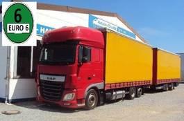 mega-volume vrachtwagen DAF XF 460 SSC 6x2 Jumbo incl Krone durchlader 2014 2014