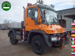 open laadbak vrachtwagen Unimog U 400 405/12 Vario Pilot EURO 5 Klima SFZ 2011