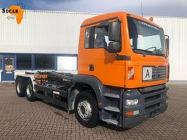 containersysteem vrachtwagen MAN 26.460 6X4 Manual-fuelpomp (full steel) 2003
