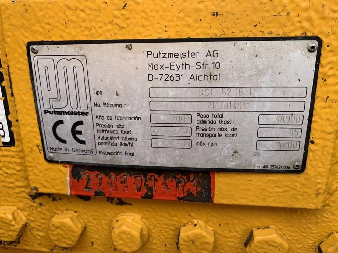 betonpomp vrachtwagen Mercedes-Benz Actros 4148 Concrete pump 52.16 h 2004
