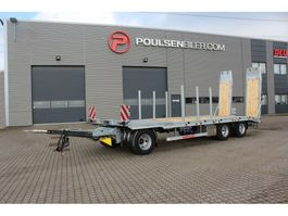 dieplader aanhanger Hangler 3-axle machinery trailer 2020