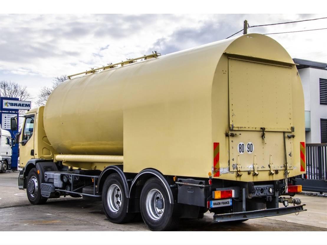 silo vrachtwagen Renault Premium 300 - 6X2 - 10 PNEUS + SILO 2001