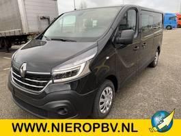 gesloten bestelwagen Renault trafic dub cab airco navi NIEUW 2020