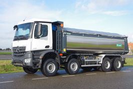 camion à benne basculante > 7.5 t Mercedes-Benz Arocs 4145-K 8x4 - Euro 6 - 20m3 VS-Mont Isolated Tipper - HYVA Cover - NEW