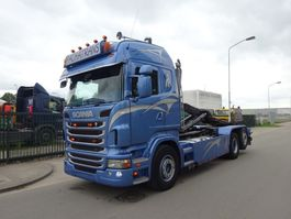 containersysteem vrachtwagen Scania R 420 6 X 2 + HOOKSYSTEM !! NEW CONDITION !! 2012