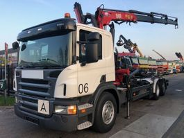 containersysteem vrachtwagen Scania P320 + HMF 1580 T3 2011 2011