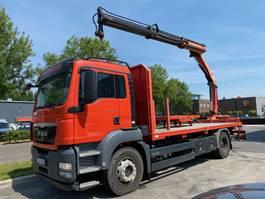 open laadbak vrachtwagen MAN TGS 18.480 EEV 4X2 + PALFINGER PK15002 2013