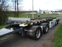 container chassis aanhanger Vogelzang VA-13,4-13,4-C/80 cm container hoogte/755 container 2008