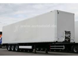 gesloten opbouw oplegger Krone SD 27 Dry Liner Koffer mit Rolltor 2008