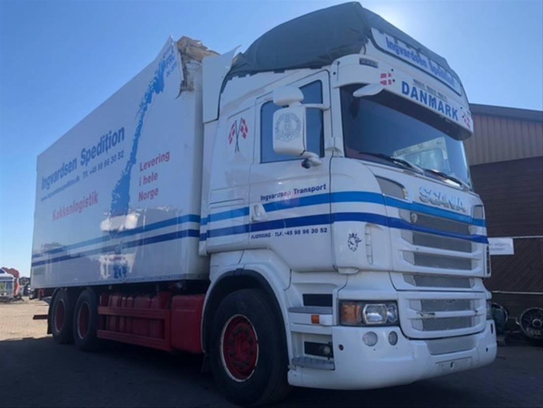 koelwagen vrachtwagen Scania R730 / 6X2 / EURO 5 2012
