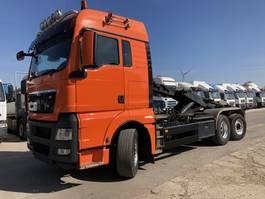 containersysteem vrachtwagen MAN TGX 26.440 6X2-4 BL-XLX Abroller-Lenk-Lift-Intarder 2008