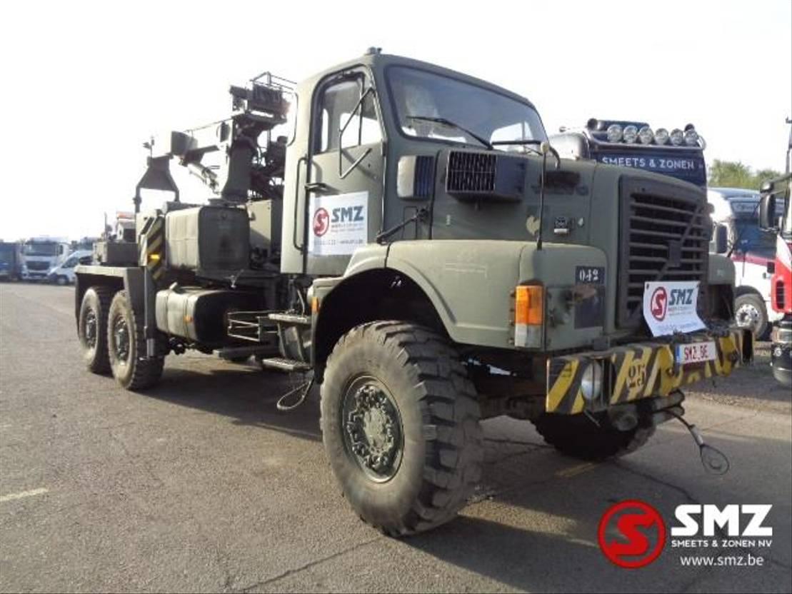 takelwagen-bergingswagen-vrachtwagen Volvo 6x4 tow truck depannage 1990