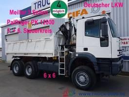 kipper vrachtwagen > 7.5 t Iveco MP 260E38 6x6 Meiller Palfinger PK12000 Sitzhzg. 2005