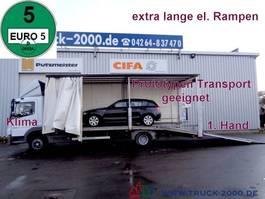 autotransporter vrachtwagen Mercedes-Benz 822 Atego Geschlossener Transport + el. Rampen 2009