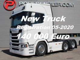 standaard trekker Scania S650 6x2 2950mm Ready for delivery -DOUBLE BOOGIE RETARDER EURO 6 2020