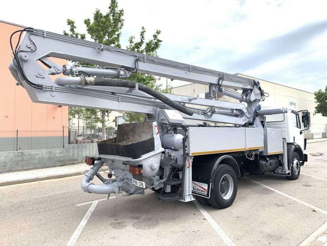 betonpomp vrachtwagen Mercedes-Benz Sk 1722 Schwing 26 M 1992