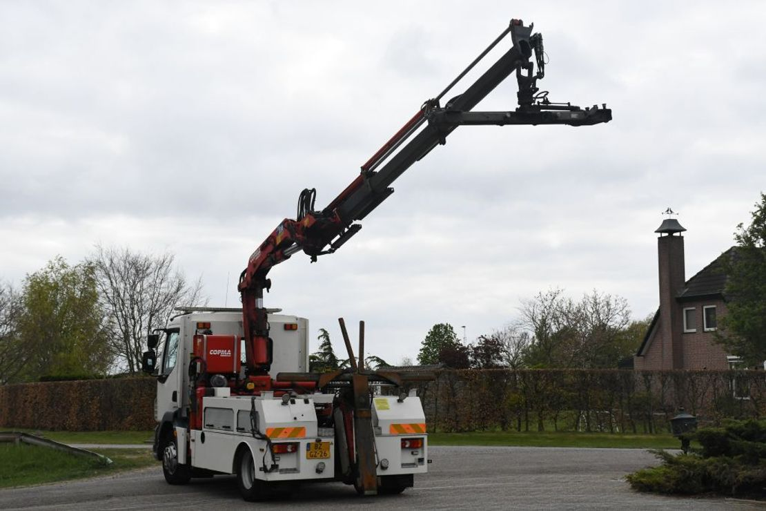 autotransporter vrachtwagen DAF FA LF55 /180!!TAKELWAGEN/DEPANNAGE/ABSCHLEPP/CRANE/BRILLE/KRAN/GRUA!!EURO5!!TOP!! 2011