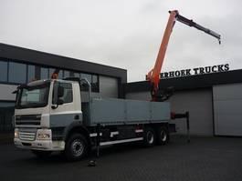 platform vrachtwagen DAF CF 85 410 6x4 euro 5 Montagekraan PK 25001EL 2008