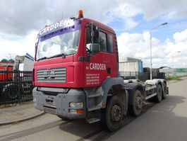 chassis cabine vrachtwagen MAN TGA 41.410 8X4 !! MANUAL + STEEL !! 2005