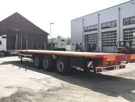 platte oplegger Humbaur Plateau-Auflieger Sumo SP 13.7 Lenk + Liftachse Rungen+Containerverriegelun 2018