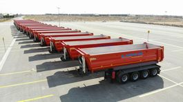 kipper oplegger Lider Box type tipper semi trailer 2021