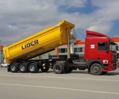 kipper oplegger Lider tipper semi trailer 2021