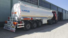 tankoplegger Lider fuel tanker semi trailer 2021