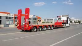 dieplader oplegger Lider extendable lowbed semi trailer 2021