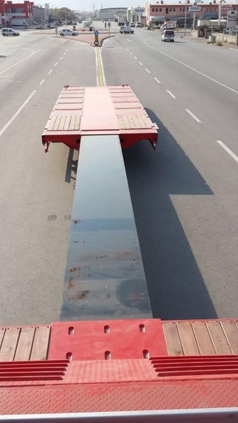 semi dieplader oplegger Lider extendable lowbed semi trailer 2021