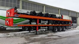 platte oplegger Lider flatbed semi trailer 2021