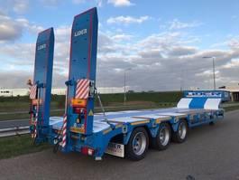 dieplader oplegger Lider lowbed trailer 2020