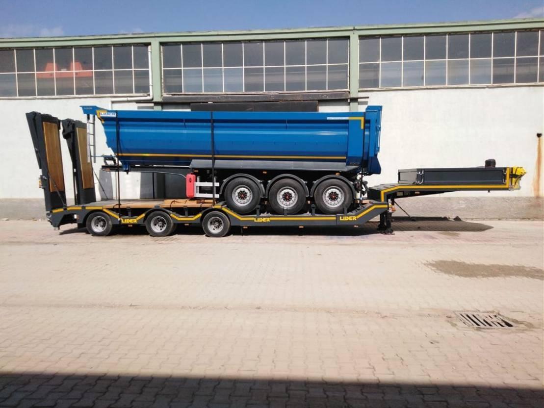 semi dieplader oplegger Lider lowbed trailer 2021