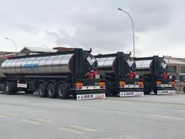 tankoplegger Lider Bitumen tanker semi trailer 2020