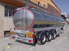 tankoplegger Lider Water tanker semi trailer