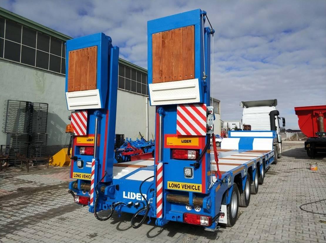 semi dieplader oplegger Lider Lowbed semi trailer. 2021