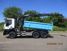 kipper vrachtwagen > 7.5 t Iveco 380 T 41 W TRAKKER EURO 5 6X6 FULLSTEELSUSPENSION 2008