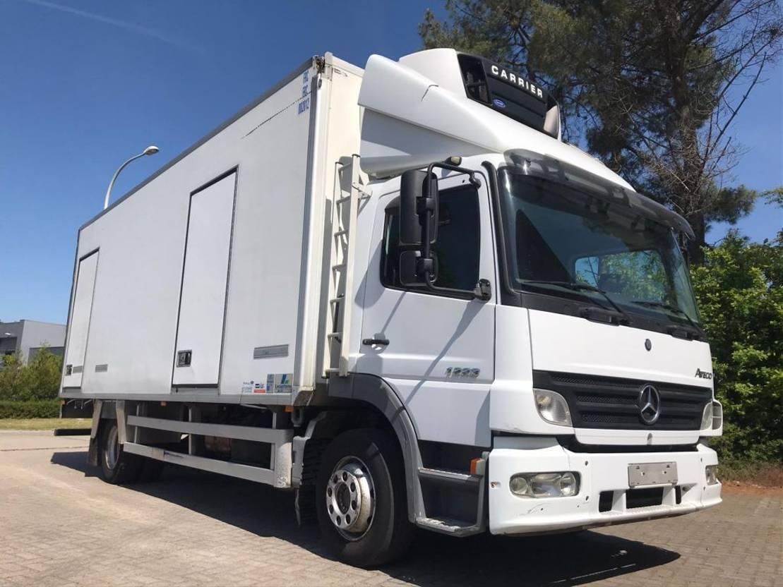 koelwagen vrachtwagen Mercedes-Benz Atego 1223 2006