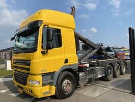 containersysteem vrachtwagen DAF CF 85 FAK 8X2 + VDL HAAKARM 2011