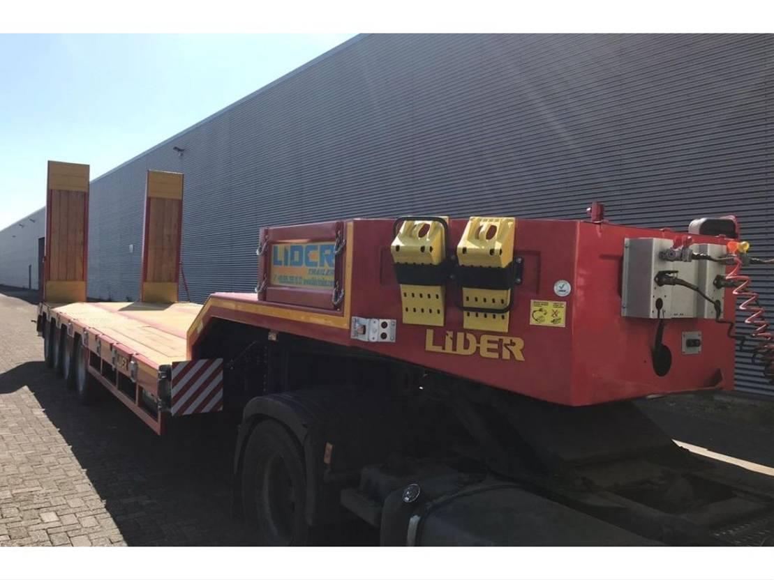 semi dieplader oplegger Lider LD 07-80 T 2020