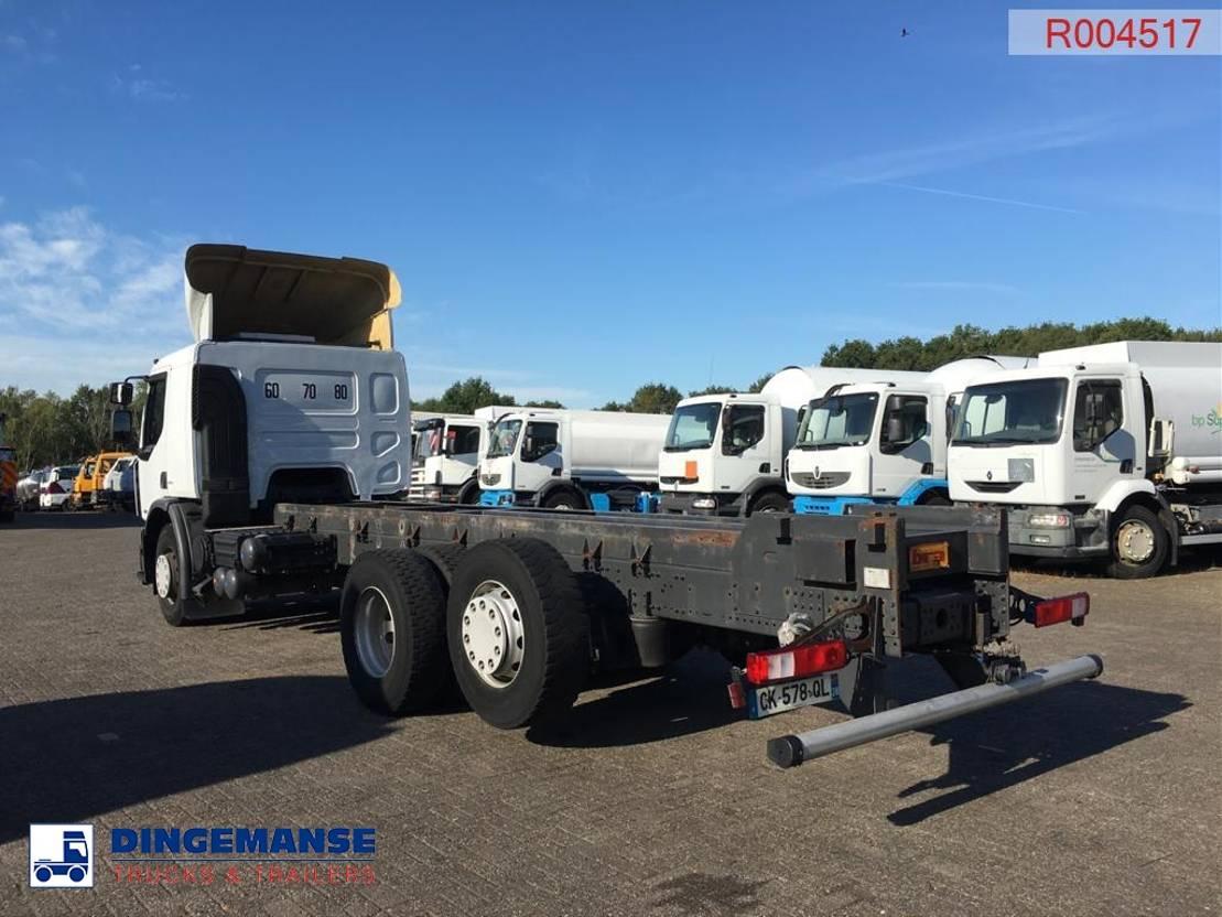 chassis cabine vrachtwagen Renault Premium 380 dxi 6x2 Euro 5 chassis + Retarder 2012