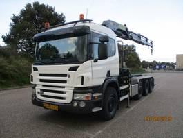 containersysteem vrachtwagen Scania P 380 8X2 EURO 4 2008