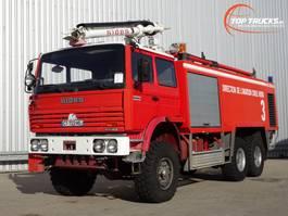 brandweerwagen vrachtwagen Renault Thomas Sides VMA 68 6x6 Foam Crash-tender, Feuerwehr, Fire truck, Brandw... 1995