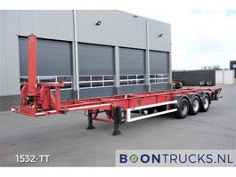 container chassis oplegger LAG O-3-39-LT   40ft TIPPING CHASSIS * OWN HYDRAULICS * ADR 2001