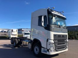 chassis cabine vrachtwagen Volvo FH13, 6x2, Hub-reduction, Manual, Full steel 2017